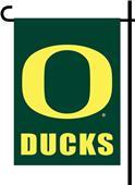 """COLLEGIATE Oregon Ducks 13"""" x 18"""" Garden Flag"""
