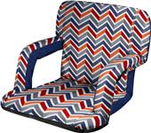 Picnic Time Ventura Seat Portable Recliner Chair