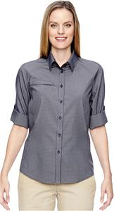 North End Ladies Excursion F.B.C. Textured Shirt