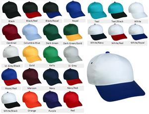 OC Sports Youth Adj. Single Snap Closure Cap