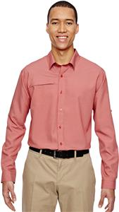 North End Mens Excursion F.B.C. Textured Shirt