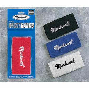 "Markwort Deluxe 6"" Athletic Wristbands w/Logo"