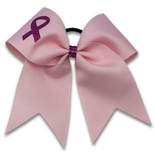 Pizzazz Awareness Bow with Ribbon