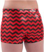 Pizzazz Chevron Metallic Boys Cut Brief