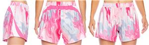 Team 365 Lady All Sport Sublimate Pink Swirl Short