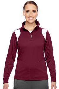Team 365 Ladies Elite Performance 1/4 Zip Jacket