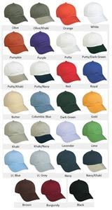 OC Sports Adjustable Strap Garment Wash Cotton Cap