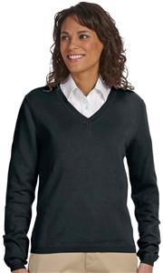 Devon & Jones Ladies V-Neck Sweater