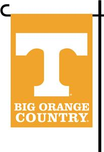 College Tennessee 2-Sided Country Garden Flag