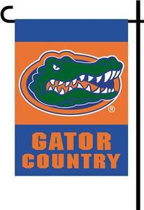 College Florida Gators 2-Sided Country Garden Flag