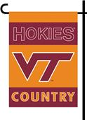 College Virginia Tech 2-Sided Country Garden Flag