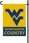 College West Virginia 2-Sided Country Garden Flag