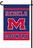 College Mississippi 2-Sided Country Garden Flag