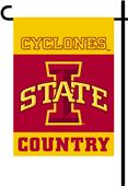 College Iowa State 2-Sided Country Garden Flag