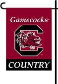College South Carolina 2-Sided Country Garden Flag
