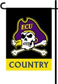College East Carolina 2-Sided Country Garden Flag
