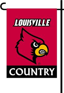 College Louisville 2-Sided Country Garden Flag