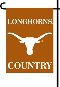 College Texas Longhorn 2-Sided Country Garden Flag