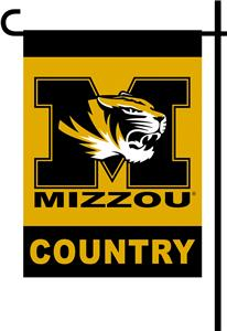 College Missouri Tiger 2-Sided Country Garden Flag