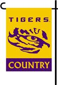 College LSU Tigers 2-Sided Country Garden Flag