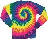 Dyenomite Spiral Tie Dye Long Sleeve Shirts