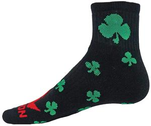 Red Lion Clover Quarter Crew Socks - Closeout