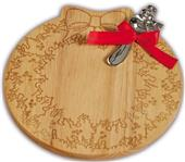 Picnic Plus Wreath Wooden Cheese Board
