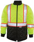 Game Sportswear The HI-Viz Quilted Jacket