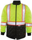 Game Sportswear The HI-Viz Quilted Jacket