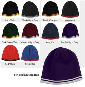 Outdoor Hat Cotton Beanie With Stripes 10 Colors