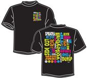 Tandem Sport Neon Terms Volleyball T-Shirt