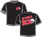 Tandem Sport Sick Game Volleyball T-Shirt