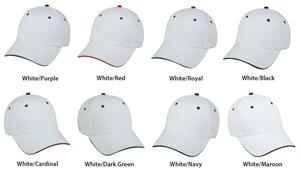 OC Sports Adjustable Cotton Twill Baseball Cap