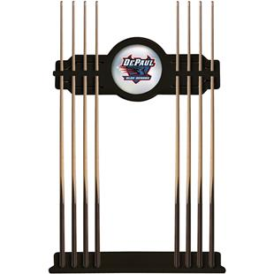 Holland DePaul University Logo Cue Rack