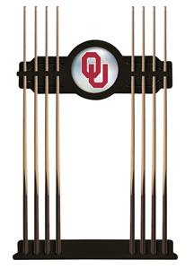 Holland Oklahoma University Logo Cue Rack