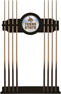 Holland Texas State University Logo Cue Rack