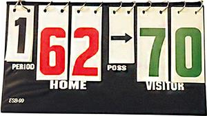 Volleyball Portable Scoreboard w/Possession Arrows