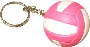 Tandem Sport Pink/White Volleyball Keychain Gifts