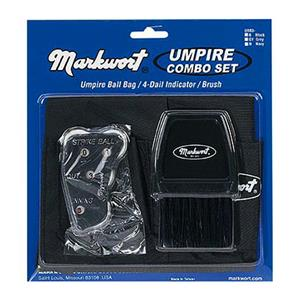 Markwort Umpire Bag/Brush/Indicator Combo Sets