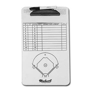 Markwort Baseball Line-Up Boards/Clipboards