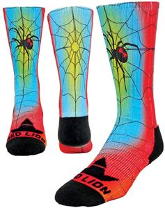 Red Lion Arachnophobia Sublimated Crew Socks