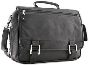 Burk's Bay Expandable Flapover Briefcase