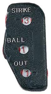 Markwort 3-Dial Baseball Umpire Indicator w/o Logo