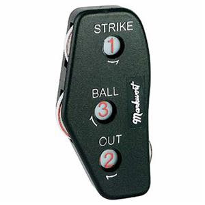 Markwort Large 3-Dial Baseball Umpire Indicators