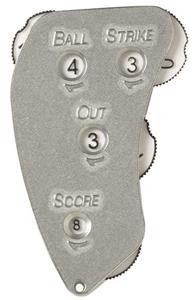 Markwort Aluminum 4-Dial Baseball Umpire Indicator