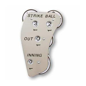 Markwort 4-Dial SS Baseball Umpire Indicators