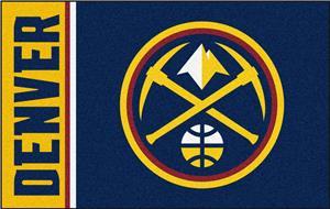 Fan Mats NBA Denver Nuggets Starter Rug