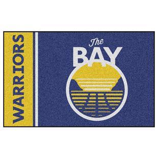 Fan Mats NBA Golden State Warriors Starter Rug