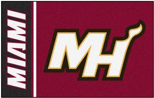 Fan Mats NBA Miami Heat Starter Rug
