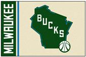 Fan Mats NBA Milwaukee Bucks Starter Rug